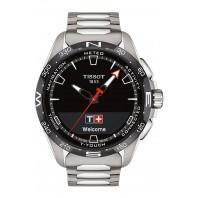 Tissot - T-Touch Connect Solar Black Dial & Titanium Bracelet T1214204405100