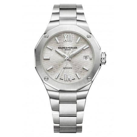 Baume & Mercier - Riviera 10615 Silver Dial & Steel Bracelet