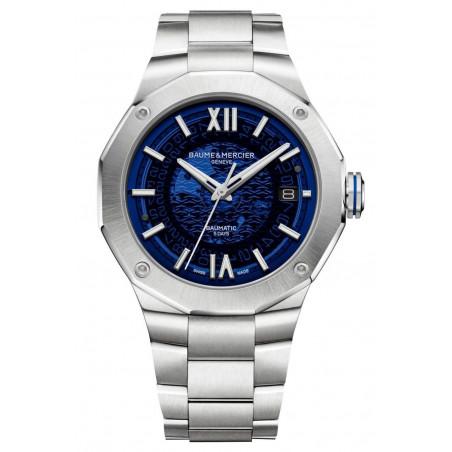 Baume & Mercier - Riviera 10616 Blue Dial & Steel Bracelet