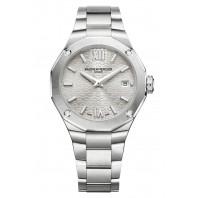 Baume & Mercier - Riviera 10614 Diamond-set Silver Dial & Steel Bracelet