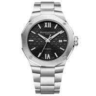 Baume & Mercier - Riviera 10621 Black Dial & Steel Bracelet