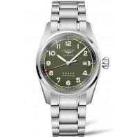 Longines Spirit - 42 mm Green Dial & Stainless Steel Bracelet L3.811.4.03.6