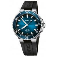 Oris - Aquis Date Calibre 400 Blue Dial & Black Rubber Strap 01 400 7769 4135-07 4 22 74FC