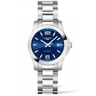 Longines - Conquest 34mm Blue Dial & Steel Bracelet L3.377.4.96.6