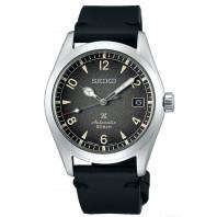 Seiko - Prospex Alpinist Grey Dial & Black Leather Strap SPB159J1