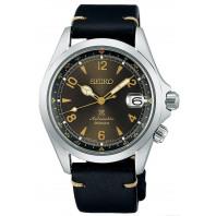Seiko - Prospex Alpinist Brown Dial & Black Leather Strap SPB209J1