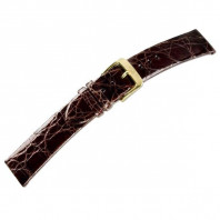 CROCODILE CLASSIC crocodile leather strap