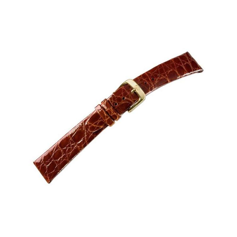 CROCODILE CLIP crocodile leather strap