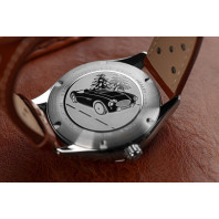 Frederique Constant - Vintage Rally Healey Automatic Small Seconds Limited Edition Green & Leather FC-345HGRS5B6