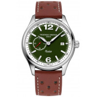 Frederique Constant - Vintage Rally Healey Automatic Small Seconds Limited Edition Grön & Läderband FC-345HGRS5B6