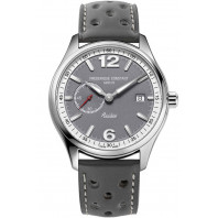 Frederique Constant - Vintage Rally Healey Automatic Small Seconds Limited Edition Grå & Läderband FC-345HGS5B6
