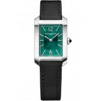 Baume & Mercier - Hampton 22x35mm Green & Textile Strap 10630