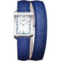 Baume & Mercier - Hampton 22x35mm White & Blue 10629