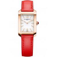 Baume & Mercier - Hampton 18K gold lady's watch 10628
