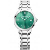 Baume & Mercier - Classima 10609 Green Dial & Steel Bracelet Ladies Watch