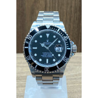 PRE-OWNED Rolex Submariner Date 40mm Black Dial Steel 16610