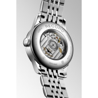 Longines - Record Lady 30mm White Mother-Of-Pearl & Diamonds L23214876