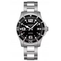 Longines - HydroConquest 39mm Black Dial & Steel Bracelet L37414566