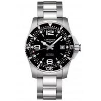 Longines - HydroConquest 41mm Black Dial & Steel Bracelet L37424566