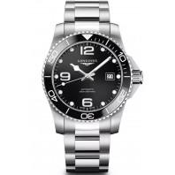 Longines - HydroConquest 41mm Black Ceramic & Steel Bracelet L37814566