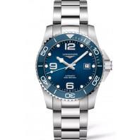 Longines - HydroConquest 41mm Blue Dial Ceramic & Steel Bracelet L37814966