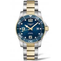 Longines - HydroConquest 41 mm Blue Steel & Gold PVD L3.781.3.96.7