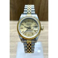 PRE-OWNED Rolex Lady-Datejust 26mm Steel & Gold 69173