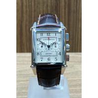 PRE-OWNED Girard-Perregaux Vintage 1945 Chronograph White/Steel 2599