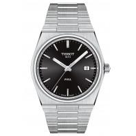 Tissot - Tissot PRX Black Dial & Steel Bracelet T137.410.11.051.00