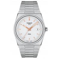 Tissot - Tissot PRX Silver Dial & Steel Bracelet T137.410.11.031.00
