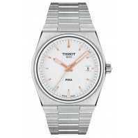 Tissot - Tissot PRX Silver Urtavla & Stållänk T137.410.11.031.00