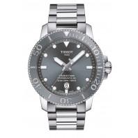 Tissot - Seastar 1000 Powermatic 80 Grey Dial & Steel Bracelet T120.407.11.081.01