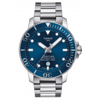 Tissot - Seastar 1000 Powermatic 80 Blue Dial & Steel Bracelet T120.407.11.081.01