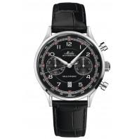 MIDO - Multifort Patrimony Chronograph Svart Urtavla & Läderband M040.427.16.052.00