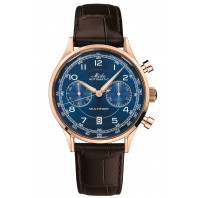 MIDO - Multifort Patrimony Chronograph Blue Dial & Leather Strap M040.427.36.042.00