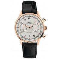 MIDO - Multifort Patrimony Chronograph Vit Urtavla & Läderband M040.427.36.262.00
