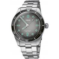 Oris - Divers Sixty-Five 40mm Grey & Bracelet 01 733 7707 4053-07 8 20 18