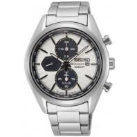 Seiko - Solar Chronograph Silver Dial & Steel Bracelet SSC769P1