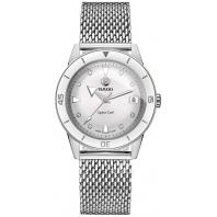 Rado - Captain Cook Automatic Diamonds Vit Urtavla & Stållänk R32500703