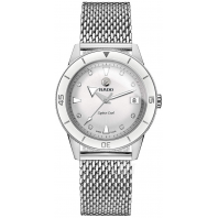 Rado - Captain Cook Automatic Diamonds White Dial & Steel Bracelet R32500703