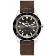 Rado - Captain Cook Automatic Brown Dial & Läderband R32505305