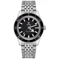 Rado - Captain Cook Automatic Black Dial & Steel Bracelet R32505153