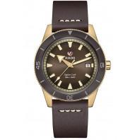 Rado - Captain Cook Automatic Bronze Brown & Leather Strap R32504306