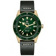 Rado - Captain Cook Automatic Bronze Green & Leather Strap R32504315