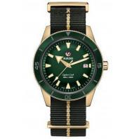 Rado - Captain Cook Automatic Bronze Green & Nato Strap R32504317