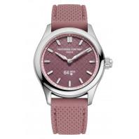 Frederique Constant - Smartwatch Ladies Vitality 36mm Pink & Rubber Strap FC-286BRGS3B6