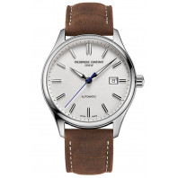 Frederique Constant - Classics Index Automatic 40mm White Dial & Leather Strap FC-303NS5B6