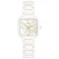 Rado -  True Square Diamonds Mother of Pearl & White Ceramic R27072902