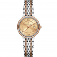 Adamavi Lady's Watch Rose gold Diamonds 00.10315.07.45.31