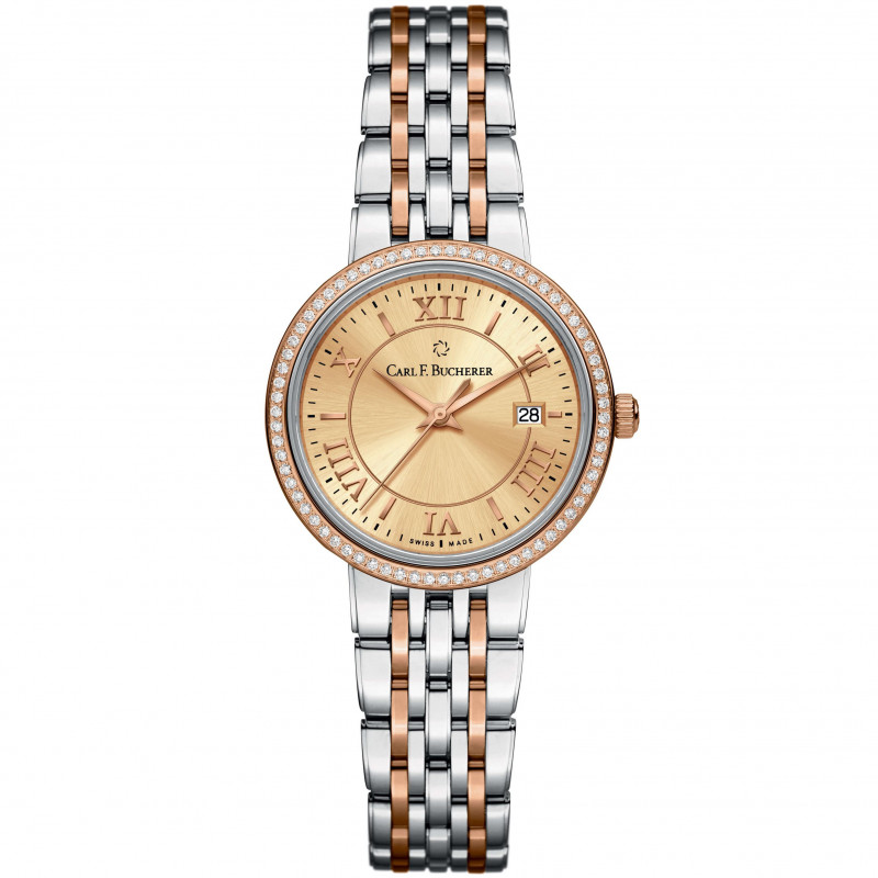 Adamavi Lady's Watch Rose gold Diamonds 00.10315.07.45.31